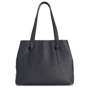 NWT Sonoma Goods For Life Knot Tote in Black